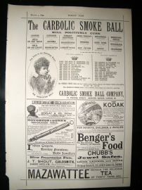 Carbolic Smoke Ball 1892 Important Legal Advert